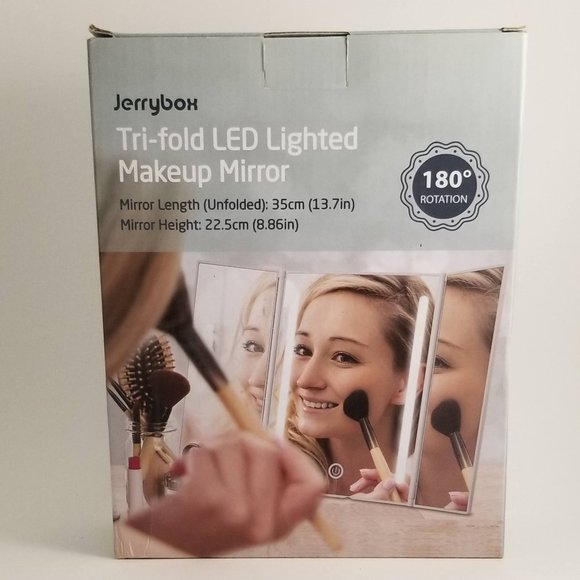 Jerry Box Other - JerryBox Makeup Vanity Mirror with LED Lights